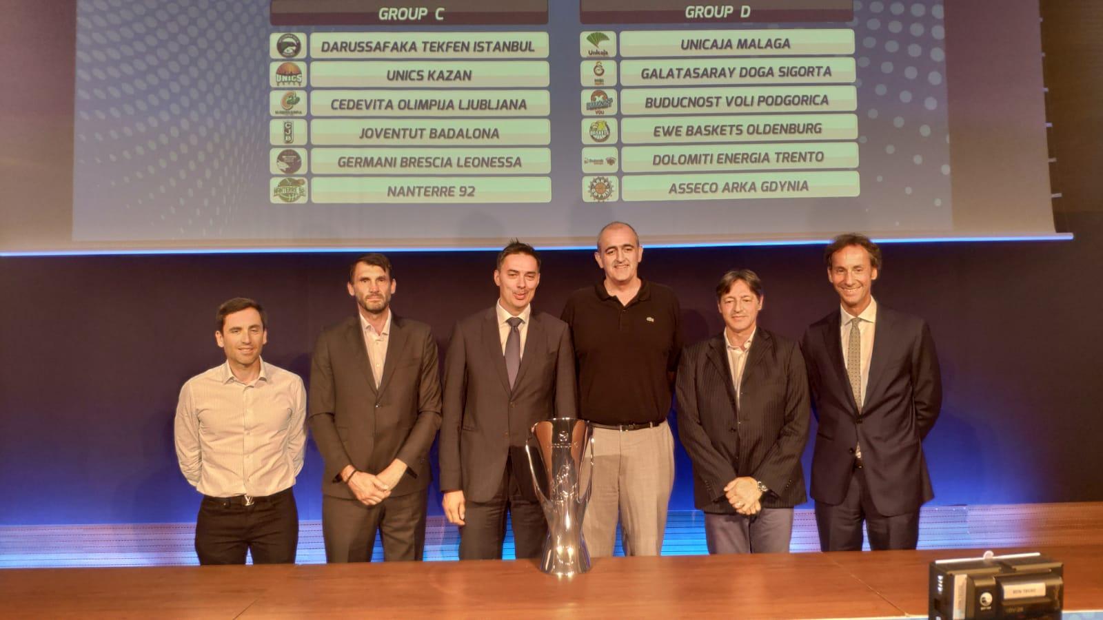 Calendario Eurocup.Calendario Y Grupo De La Eurocup