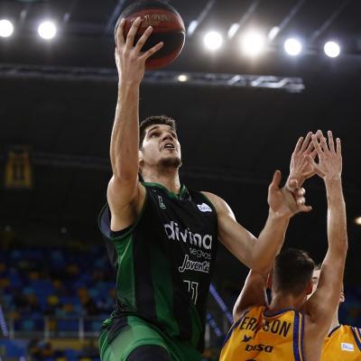 Marko Todorovic contra el Gran Canaria / ACB Photo - M. Henriquez