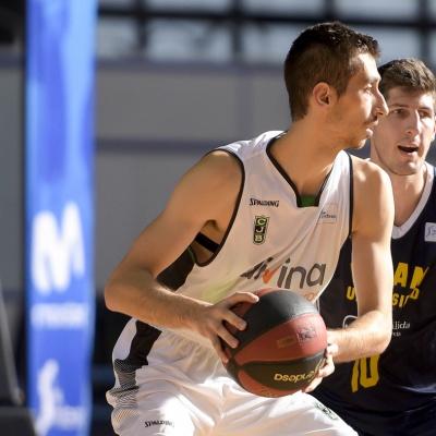 José Nogués contra l'UCAM Murcia