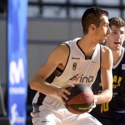 José Nogués contra el UCAM Murcia