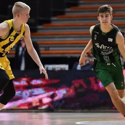 El Júnior, en el Adidas Next Generation Tournament
