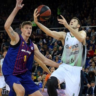 Xabi López-Arostegui en el Palau Blaugrana / David Grau
