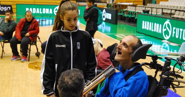 Jornadas de deporte inclusivo en el Palau Olímpic de Badalona