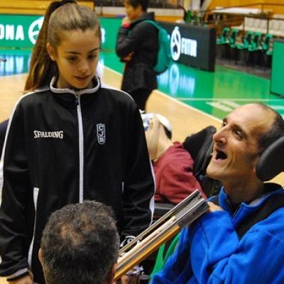 Jornades d'esport inclusiu al Palau Olímpic de Badalona