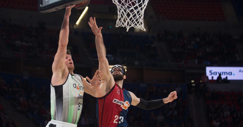Harangody, en el Buesa Arena / ACB Photo: A. Bouzo
