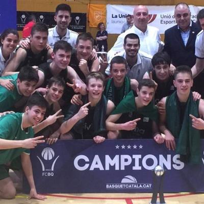 L'Infantil A, campeón de Catalunya / Foto de archivo