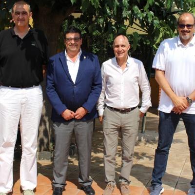 Foto de los representantes de los Clubes ACB que disputarán la Lliga Catalana