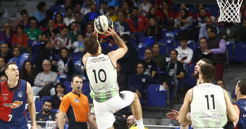 Nico Laprovittola contra el Kirolbet Baskonia / ACB Photo