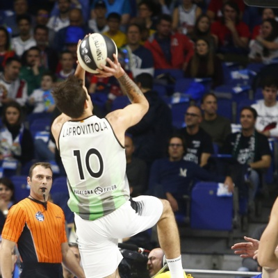 Nico Laprovittola contra el Kirolbet Baskonia / ACB Photo