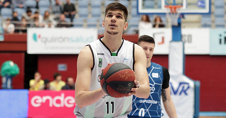 Marko Todorovic en el Donostia Arena / ACB Photo: U.Murillo