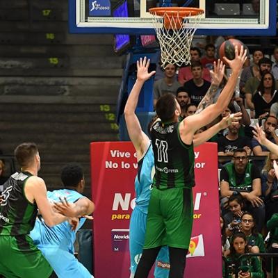 Marko Todorovic contra el Movistar Estudiantes / Foto: David Grau