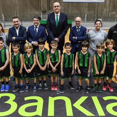 Foto del acuerdo entre el CJB y Bankia / Foto David Grau