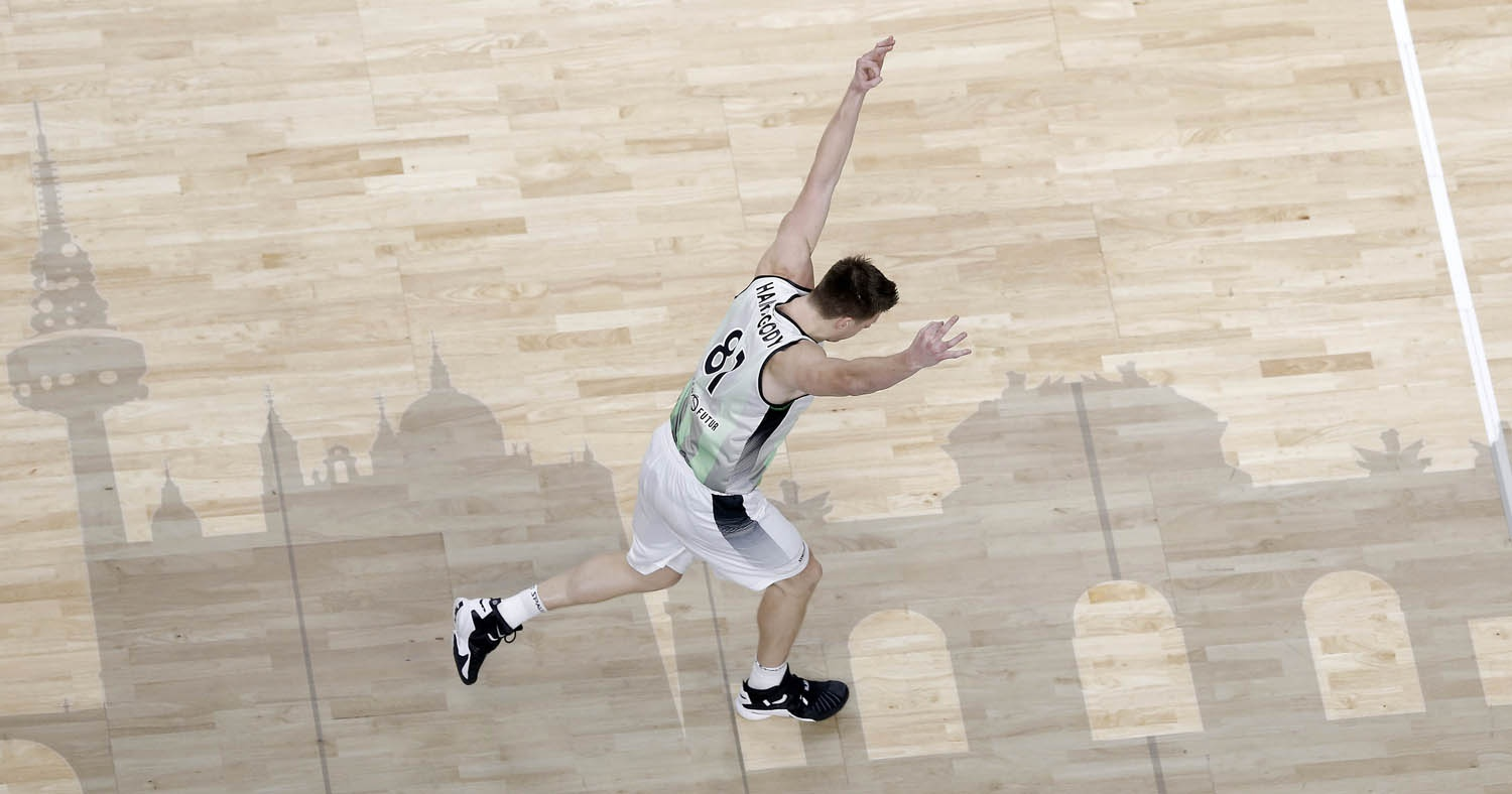 Luke Harangody, en la Copa 2019 / ACB Photo