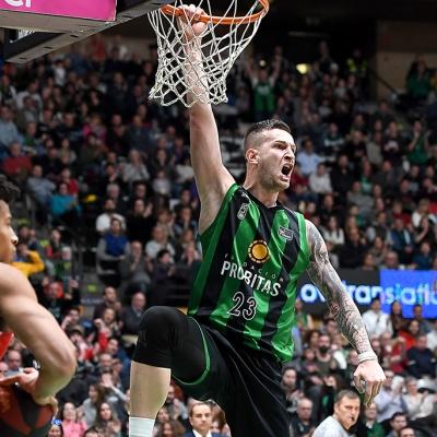 Alen Omic, contra UCAM Murcia / Foto: David Grau