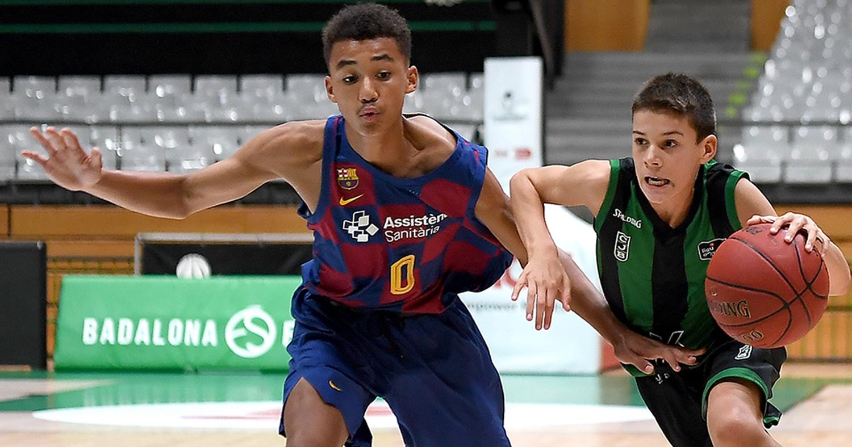 Infantil A contra el Barça / Foto: David Grau