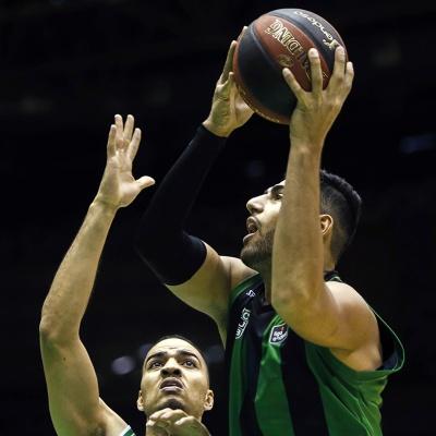 Kerem Kanter, contra el Coosur Real Betis / ACB Photo: Fernando Ruso