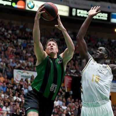Luke Harangody contra el R.Madrid / Foto: David Grau
