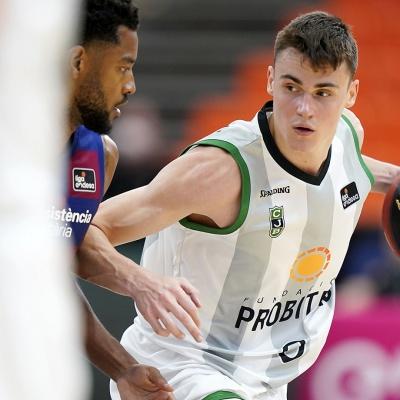 Neno Dimitrijevic, contra el Barça / ACB Photo M.Pozo
