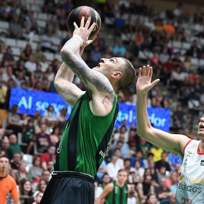 Alen Omic, contra San Pablo Burgos