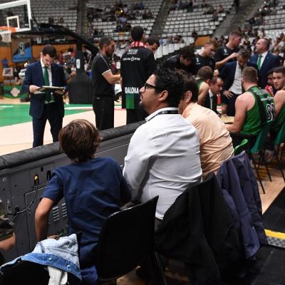 Aficionados que ya han disfrutado de la nueva gran experiencia del Olímpic / Foto: David Grau