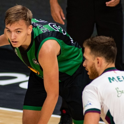 Arturs Zagars, contra l'Unicaja / ACB Photo