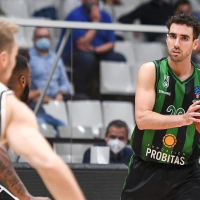 Ferran Bassas contra el Partizan
