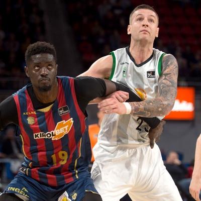 Omic, en el Buesa Arena / ACB Photo: A. Bouzo