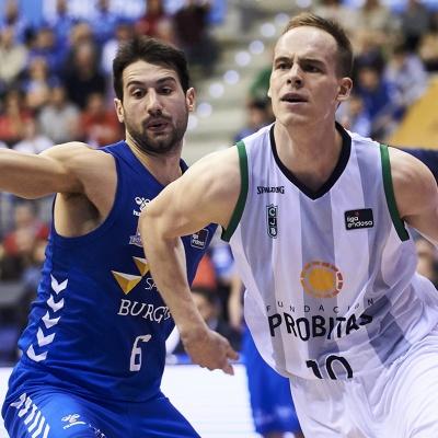 Klemen Prepelic, protagonista del partit / ACB Photo: B.B.Hojas