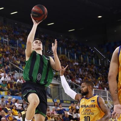 Neno Dimitrijevic, protagonista del partido / ACB Photo: M.Henríquez