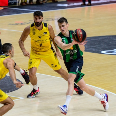 Neno Dimitrijevic, contra Iberostar Tenerife / ACB Photo