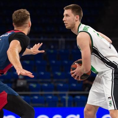 Vladimir Brodziansky, en una acción de juego / ACB Photo A. Bouzo