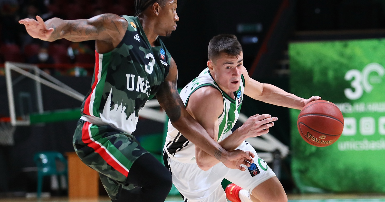 Neno Dimitrijevic, contra UNICS Kazan / Photo: UNICS Kazan