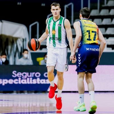 Neno Dimitrijevic, contra el MoraBanc Andorra / ACB Photo: Albert Martín