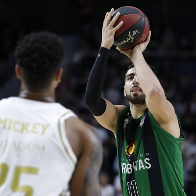Kerem Kanter, contra el Real Madrid / ACB Photo: V. Carretero